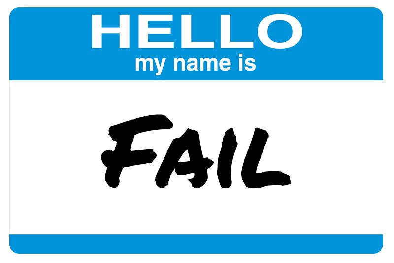 Labels fail the test