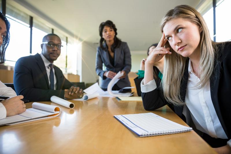Are people hearing 'blah blah blah' when you speak?